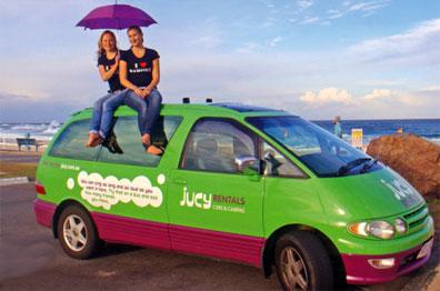 »Preisgünstige Camper Neuseeland: Campmobile von JUCY«