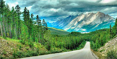 »Kanada Motorradreise - Tour durch Canadian Rocky Mountains«