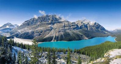 »Die Natur Westkanadas hautnah: Mount Robson Park Kinney Lake«