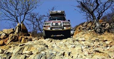 »Mietwagenreise Namibia - Unter dem Kreuz des Südens«