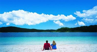 »Naturwunder Australiens: Fraser Island Lake McKenzie«