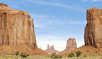 » Monument Valley - Farbenpracht der Nationalparks «