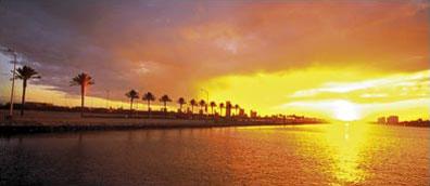 »Florida Relaxing Mietwagenreis: Traumhafter Sonnenuntergang«
