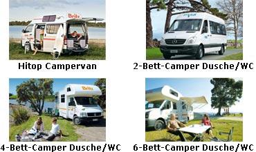 »Fahrzeuge: Folgende Modelle stehen zur Auswahl«