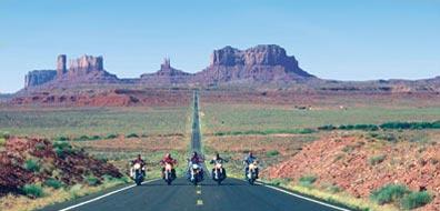 »Günstige Angebote Flug in die USA und Motorrad Reisen«