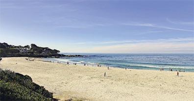 »Der Amerikanische Westen: Reise nach Carmel Beach«