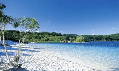 »Fraser Island Wildnis Safari: Lake McKenzie«