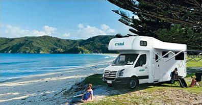 »Flug und Wohnmobil Neuseeland Reise«