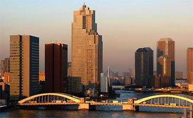 »Die Skyline von Tokyo - Rundreise Korea und Japan«