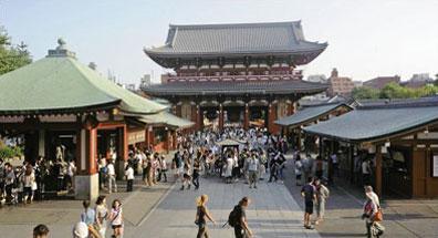 »Entdecken Sie Japans pulsierende Metropolen, seine Tempel«