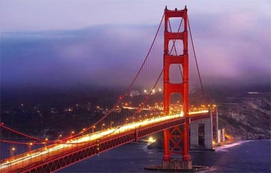 »Grandioser Westen USA Reise: Golden Gate Bridge«