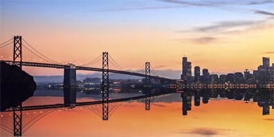 » Oakland Bay Bridge, San Francisco - Great West Reise USA «