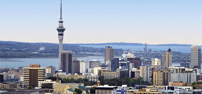 »Große Neuseeland Rundreise: Auckland, Stadt  der  Segel«