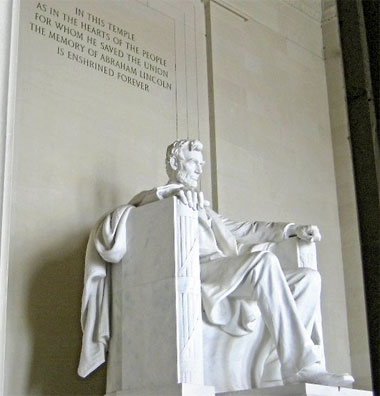 »Highlights der Ostküste: Lincoln Memorial, Washington D.C.«