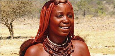 »Himba-Frau - Dünen, Himbas & Etosha Rundreise«