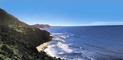 »Coastal Drive bei Kiama - Mietwagenrundreise Australien«
