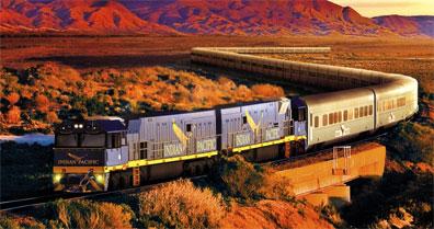 »Indian Pacific - eine tolle Bahnreise durch Australien«