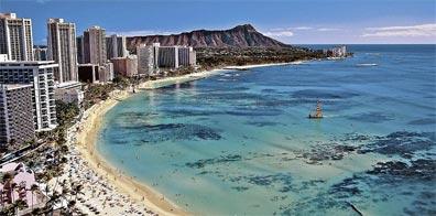 »Inselträume Hawaii: Waikiki Beach, Oahu«