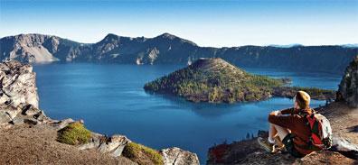 »Wander- und  Erlebnisreise: Crater Lake Nationalpark«