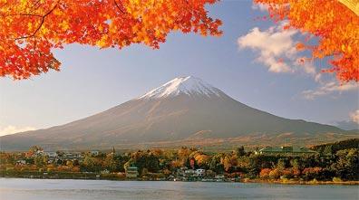 »Herbstlaubfärbung am Fuji-san - Japan zum Kennenlernen«
