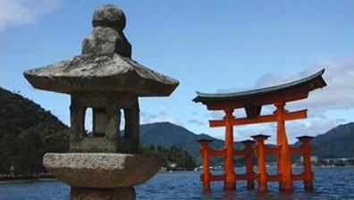 »Das Miyajima Tor am Itsukushima Schrein - Zauberhaftes Japan«