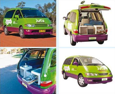 »JUCY Camper Australien Crib (max. 2 Personen)«
