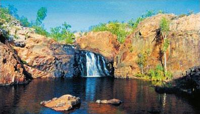 »Edith Falls bei Katherine - Kakadu Nationalpark Reise«