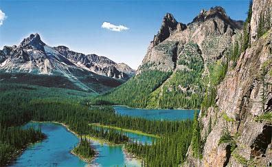 »Yoho Nationalpark - Rundreise Kanadische Kontraste«