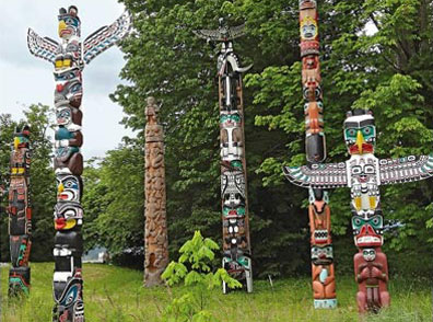 »Stanley Park, Vancouver - The Canadiana«