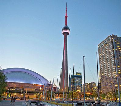 »Trans Canada Highway: CN Tower, Toronto«
