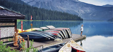 » Emerald Lake Lodge - Rundreise Westkanada mit dem Mietwagen «