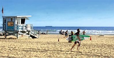 »Strandleben in Südkalifornien - Reise nach Los Angeles«