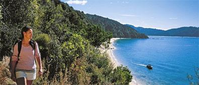 »Neuseeland für Wanderfreunde: Abel Tasman Coastal Track«