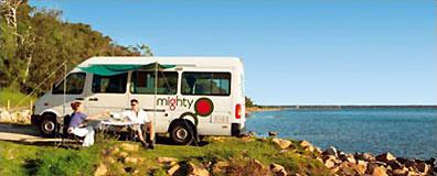 »Mighty Camper Australien - preiswerte Camper Australien«