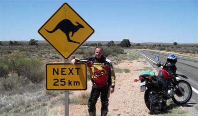 »Motorradreise Down Under: Australien der Süden«