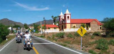 »Motorradtour Baja California durch USA und Mexiko«