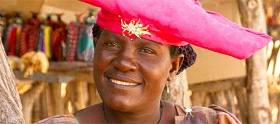 »Etosha Namibia Rundreise - Begegnungen mit Menschen«