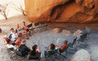 »Namibia Explorer - Namibia Camping Safaris im Safari Truck«