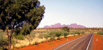 »Kata Tjuta - Mietwagenrundreise durch Australien«