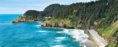 »Die Küste Oregons - Mietwagenreise Nordwesten der USA«