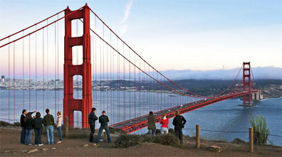 » Golden Gate Bridge, San Francisco - Naturschönheiten Westen «