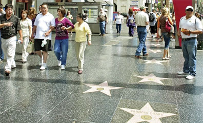 » Walk of Fame, Los Angeles - Naturschönheiten des Westens «