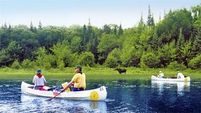 »Die Natur Westkanadas hautnah: Kanu Tour«