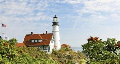 »Best of New England: Leuchtturm Portland«