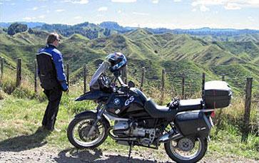 »Selbstgeführte Motorrad-Touren in Neuseeland«