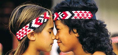 »Neuseeland - Land der Maori und Kiwis: Der Maori-Gruß«