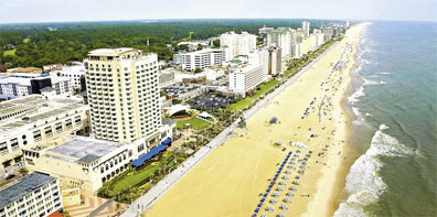» Virginia Beach - USA Atlantikküste Rundreise Mietwagen «