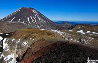 »Im Tongariro Nationalpark - Neuseeland aktiv«