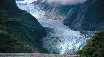 »Faszinierende Gletscher an der Westküste Neuseelands«