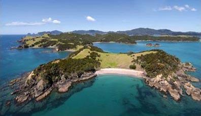 »Bay of Islands, Nordinsel - Weltreise Neuseeland und Fiji«